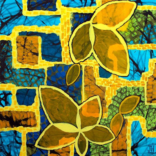 Building Blocks, original painting by Jenny Hahn