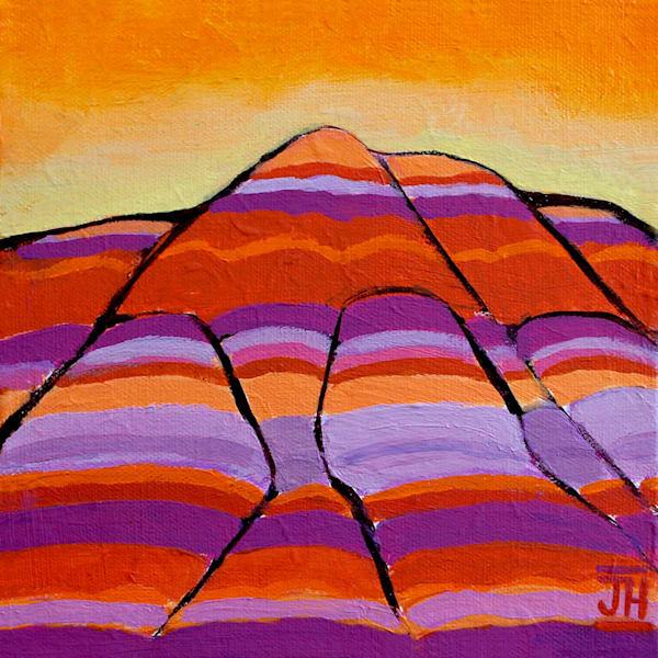 Desert Stripes, original painting by Jenny Hahn