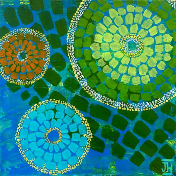 Kaleidoscope 2, original painting by Jenny Hahn