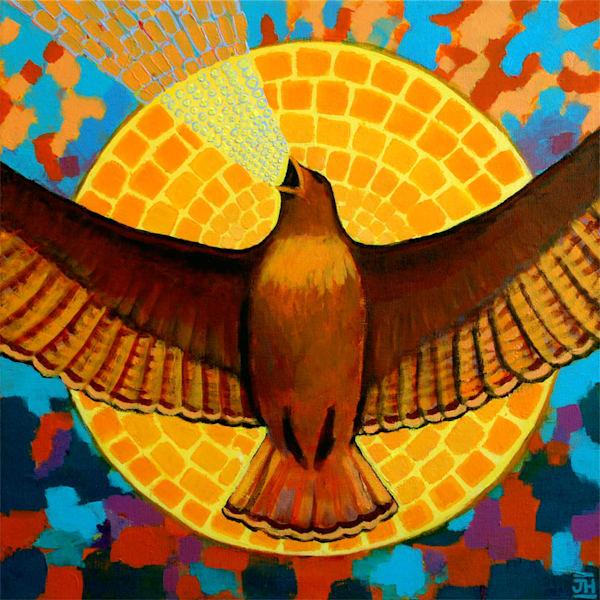 Messenger (Original Painting) Art | Jenny Hahn Art