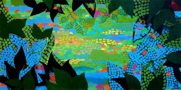 Rhapsody in Green, by Jenny Hahn