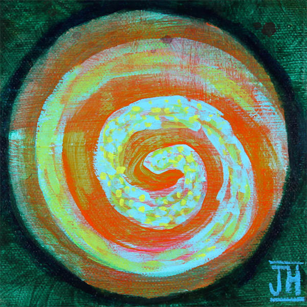 Singularity 1, original painting by Jenny Hahn