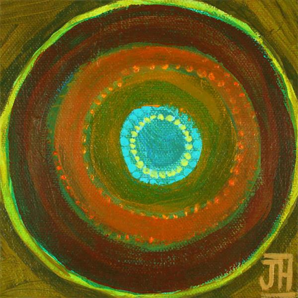Singularity 2, original painting by Jenny Hahn