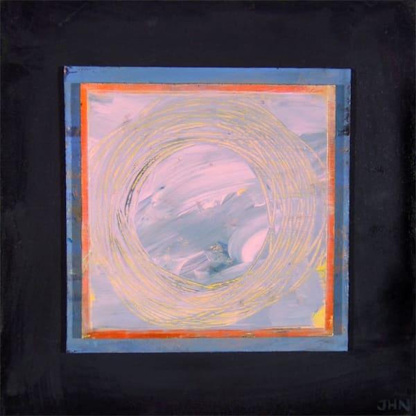 Stillness, original painting by Jenny Hahn