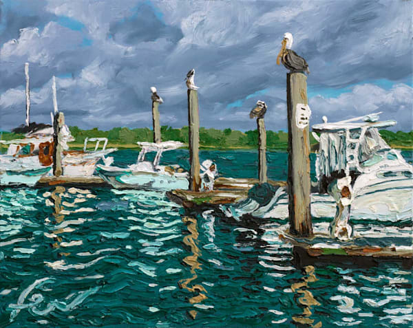 Hamlin Creek, Isle of Palms *AWARDED* | oil on canvas