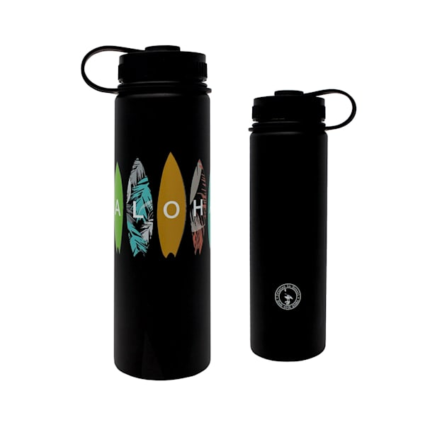 Aloha Surfboards Flask-Black