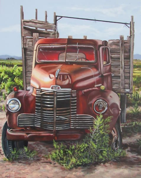 old trucks and tractors