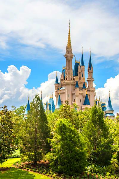 Perfect Disney Day 4 - Cinderella's Castle Art   William Drew