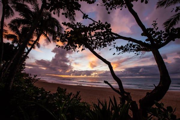 Hawaiian Sunset, North Shore, Oahu