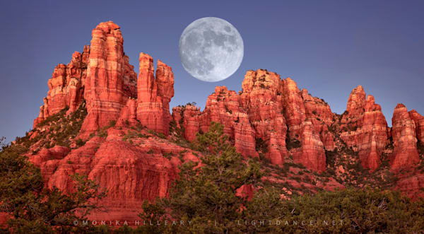 Full Moon Rising | Sedona | Prints Available