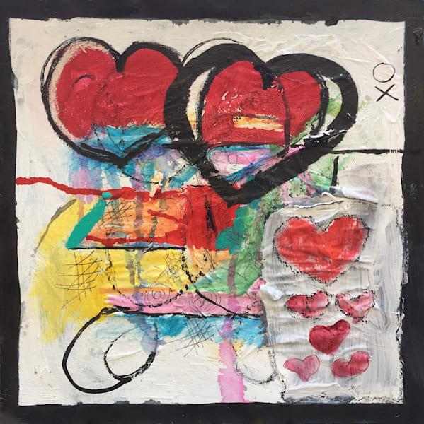 Sweet Heart original abstract art
