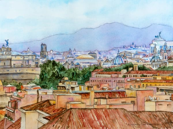 Paintings of Rome for Sale | Kimberly Cammerata