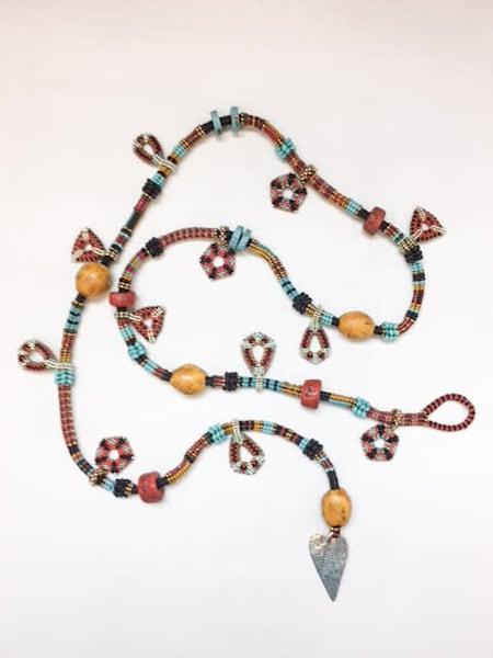 Tribal Amulet Lariat