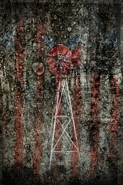 Geoscape Americana Mill Art | FortMort Fine Art