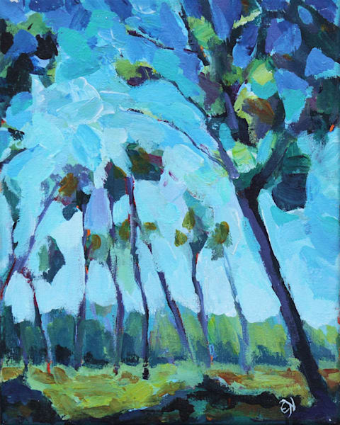 Bushland Blues Card Art | HFA print gallery