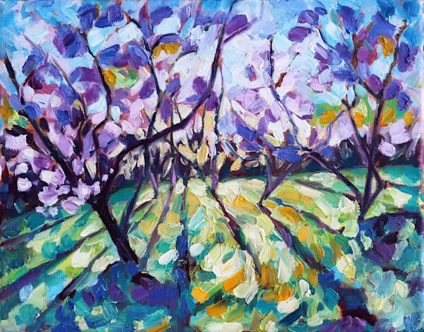 Peach Blossom Delight Card Art | HFA print gallery