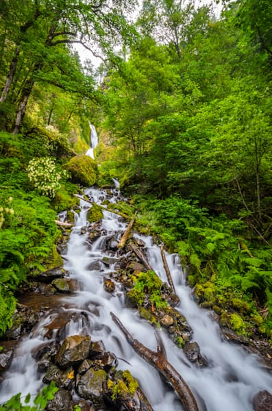Wahkeena Falls, Or Photography Art | Gingerich PhotoArt