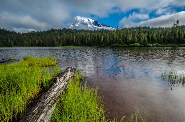 Mt. Rainier & Reflection Lake III