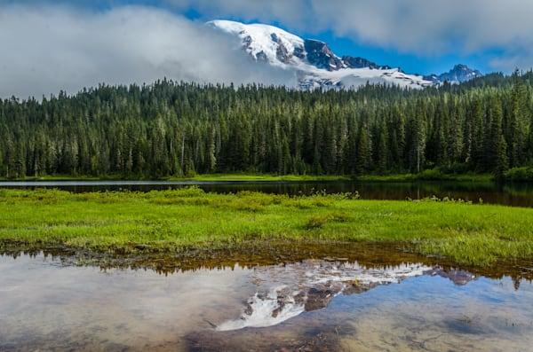 Mt. Rainier & Reflection Lake II