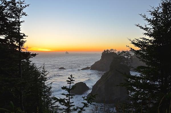 Oregon Coast at Sunset