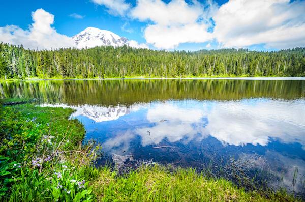 Mt. Rainier & Reflection Lake IV