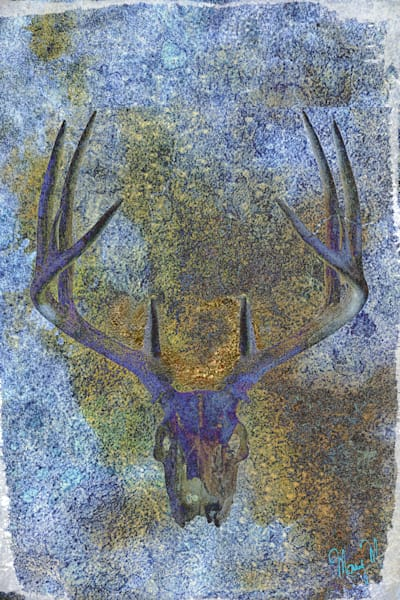Geoscape Deer Abstract Art | FortMort Fine Art