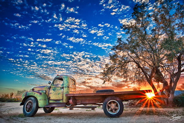 Old Betsy at Sunset - Arizona
