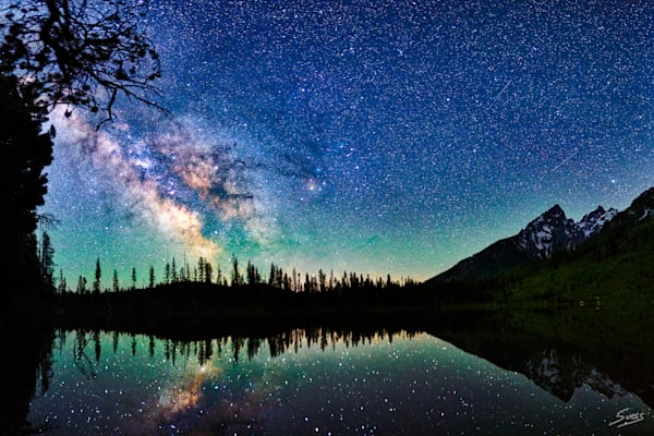 String Lake Milky Way 2017 - Grand Teton National Park