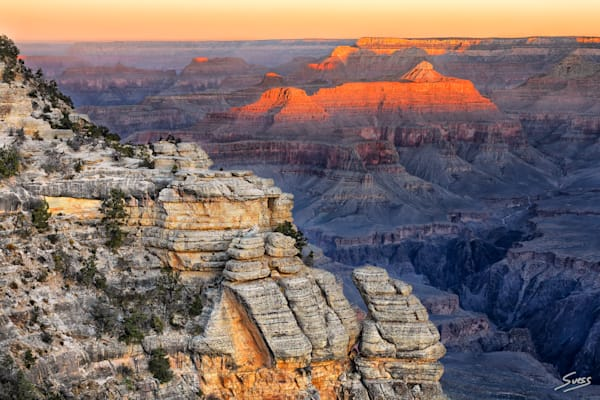 Sunrise at Mather Point - Grand Canyon National Park