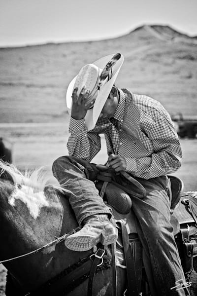 Taking a Break - Crow Agency, Montana