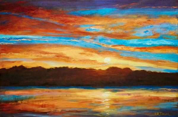Sunset at JB s Fish Camp