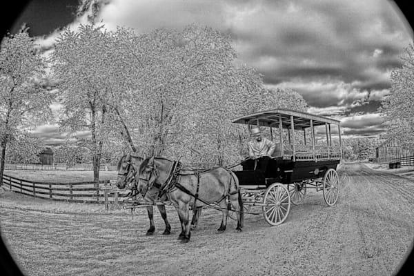 Fine Art Photog The Carriage Ride Art | FortMort Fine Art