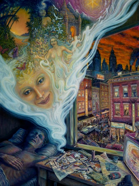 Illusion of Reality custom print from the original painting by Mark Henson