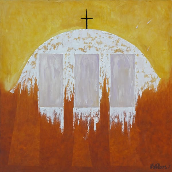 Black Cross, Mission Reckoning-southwest-painting-print-s