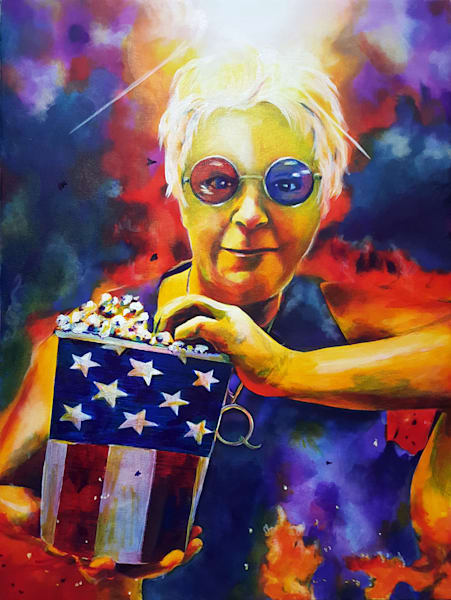 Got Popcorn? by Michelle Leivan | Kansas Art Gallery