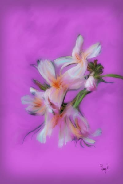 Flowers Orient Art | FortMort Fine Art