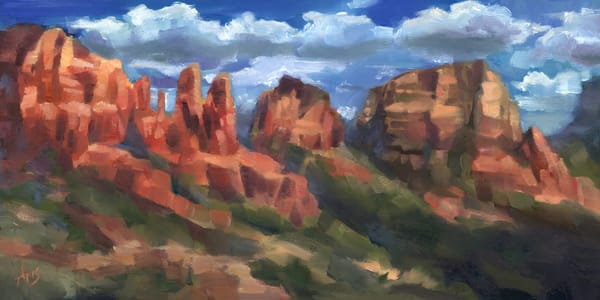 Sedona Red Rocks by Ans Taylor