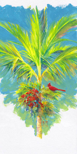 Hawaii Watercolor Art | Cardinal Virtues by Mark Martel