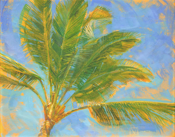 Hawaii Acrylic Art | Tropical Breeze by Mark Martel