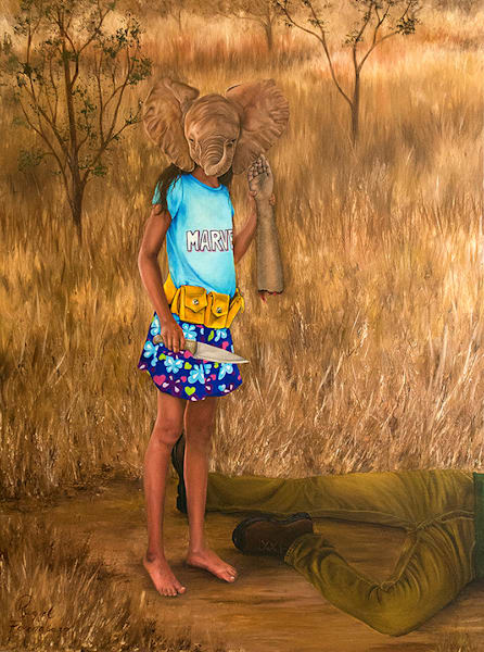 Raquel_fornasaro_trophy_hunting_zoomorphs_us2018_oil_on_canvas_cwzinn