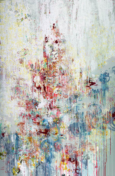 Abstract Art - Cy Twombly Inspired Expressionistic Art for Sale