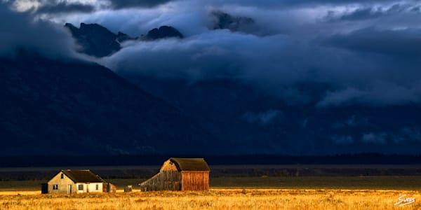 Warming Up After A Storm - Grand Teton National Park
