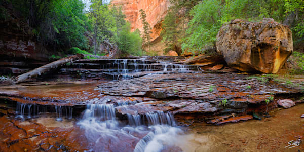Zion Cascade - Zion National Park, Utah