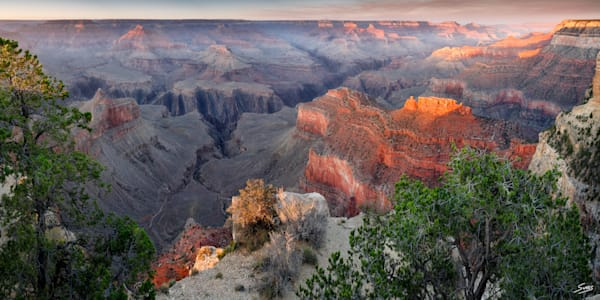 Powell Point Sunset - Grand Canyon
