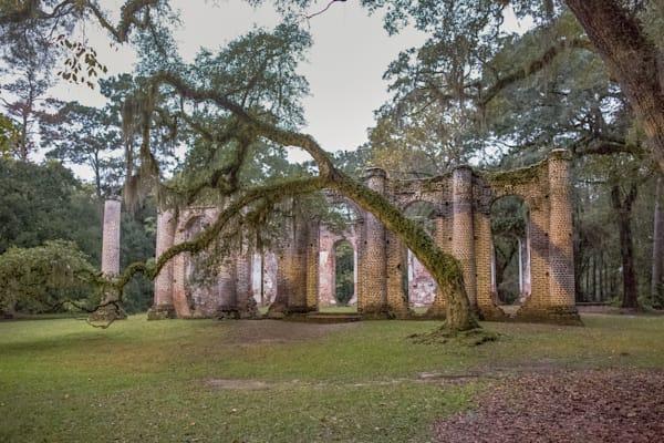 Old Sheldon Church Iii Photography Art | Phil Heim Photography