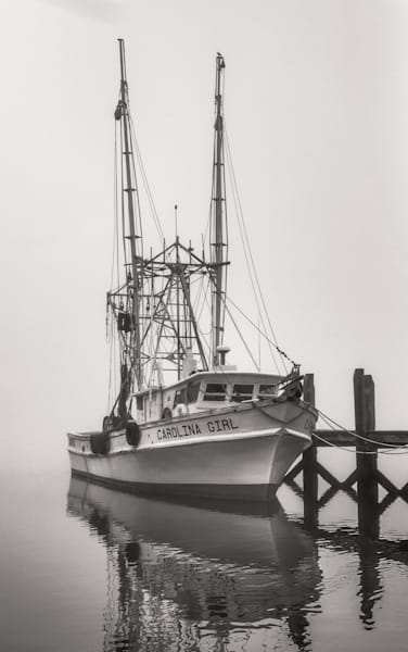 Carolina Girl Fog Photography Art | Phil Heim Photography