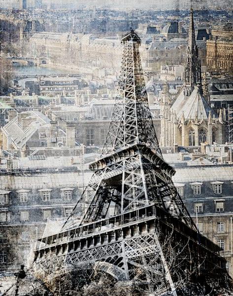Paris by The Studio Wrapped Canvas Art Print