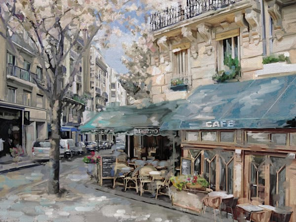 Bistro de Paris I by Studio Arts Wrapped Canvas Art Print