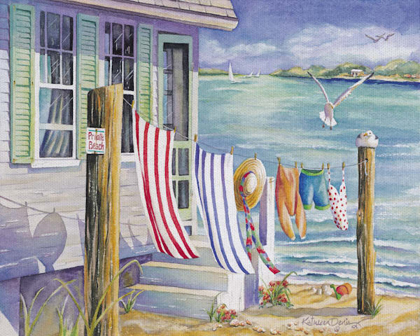 Windblown by Kathleen Denis Wrapped Canvas Art Print