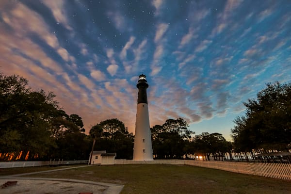 Hunting Island Lighthouse at Dawn